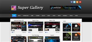 Super Gallery Premium Blogger Template