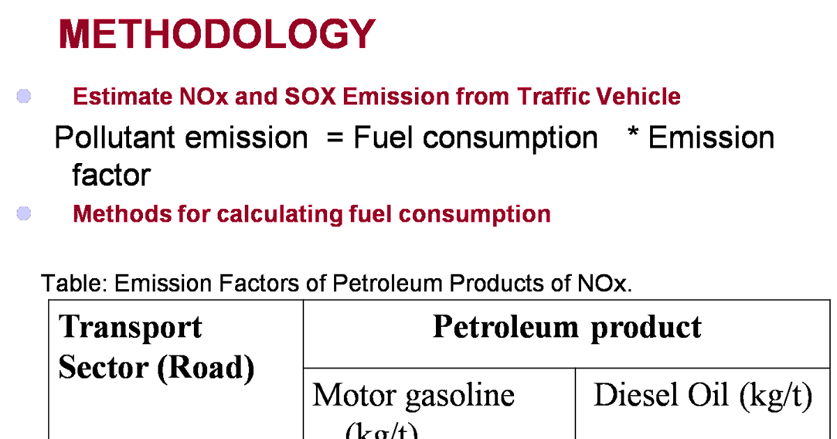 study of sox and nox environmental sciences essay Life cycle assessment of papers used for environmental reports  sox・nox emission and the incineration ash were analyzed in this study five kinds of papers used in.