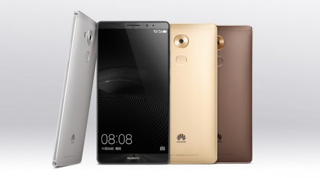 Huawei Mate 8 goes official with 6-inch display