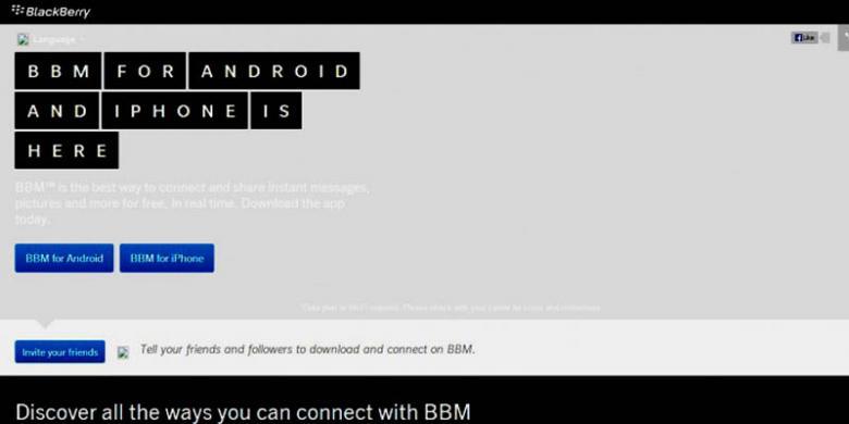 BBM di Android dan iPhone Batal Meluncur September?