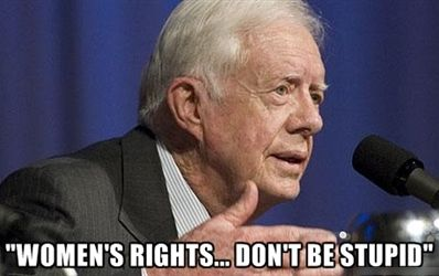 Politician says: Women's Rights... Don't be stupid""