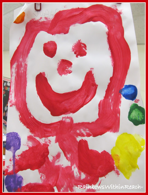 photo of: Happy Smiling Face Painted by Young Child