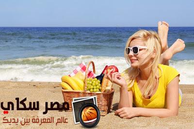 6 أطعمة تحمى بشرتك من أخطار الصيف