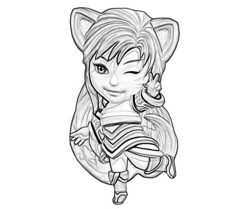 printable-league-of-legends-ahri-back_coloring-pages