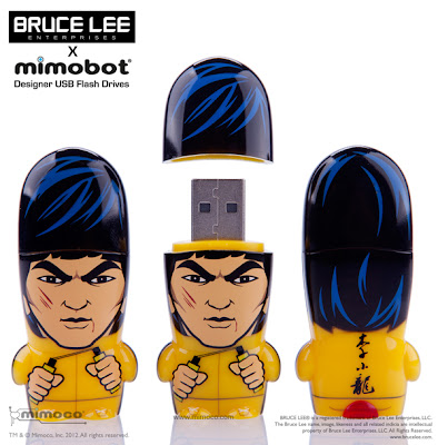The Bruce Lee Mimobot USB Flashdrive by Mimoco