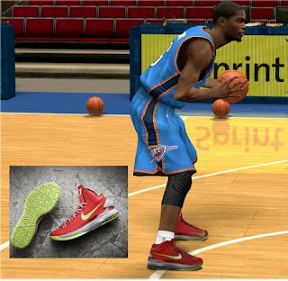 NBA 2K13 Nike KD V Kevin Durant Shoes Update