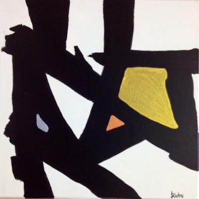 Triad, Painting by Canadian Artist Debra Kubu