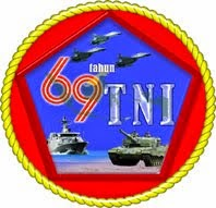LOGO HUT TNI KE 69