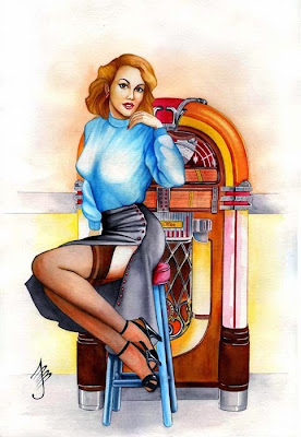 Paul John Ballard pin up