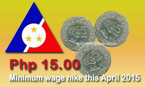 DOLE: NCR wage board approves P15 minimum wage hike