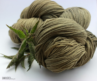 natural dyeing nettle