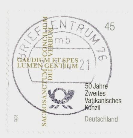 second vatican council, stamp, germany, zweites vatikanisches konzil