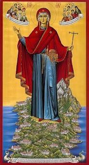 Ταξίδι ευλογημένο στο περιβόλι Της Κυρίας Θεοτόκου ...