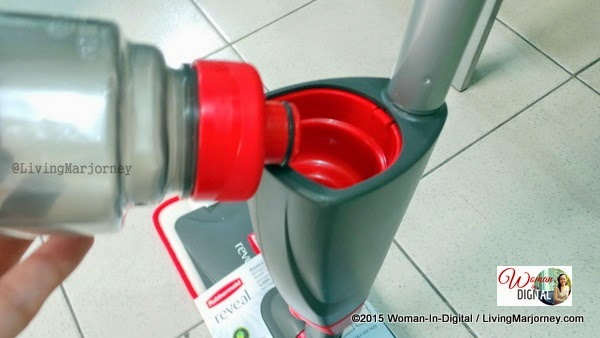 Home Tips: Rubbermaid Reveal Spray Mop Review