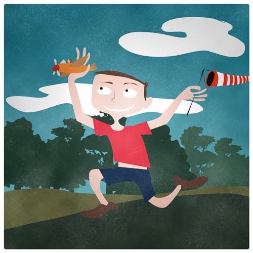 Illustration Friday - Flight