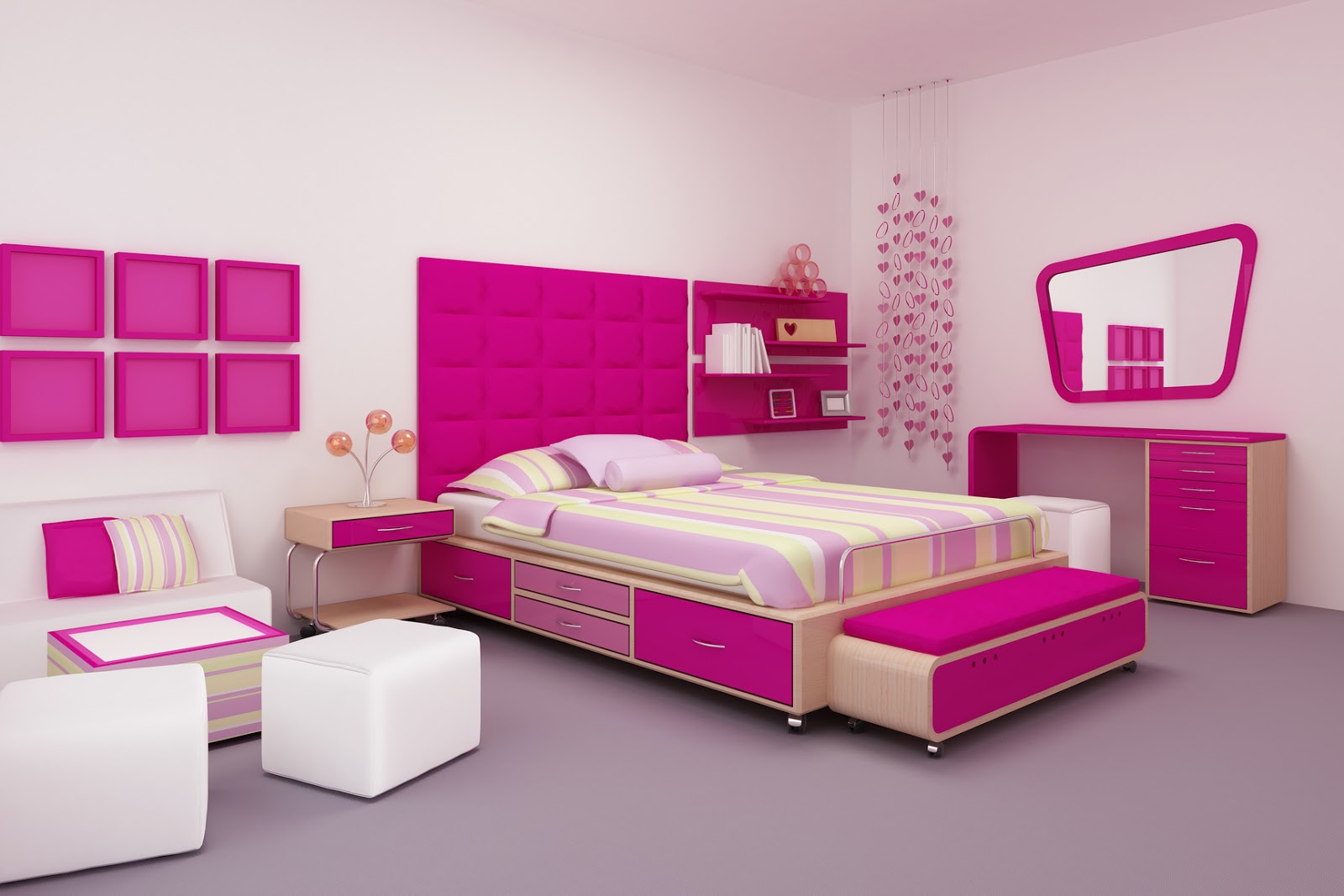 Banco de im genes 7 im genes de stock para ver disfrutar for Design your own teenage bedroom