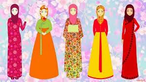 kartun hijab cantik