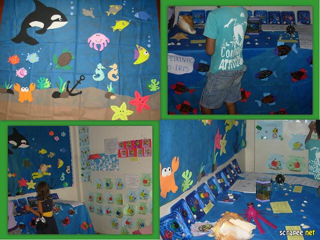 Exposição Projeto Fundo do mar