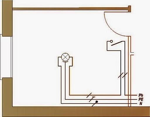 Sch mas lectricit maison comment brancher un simple - Schema simple allumage ...