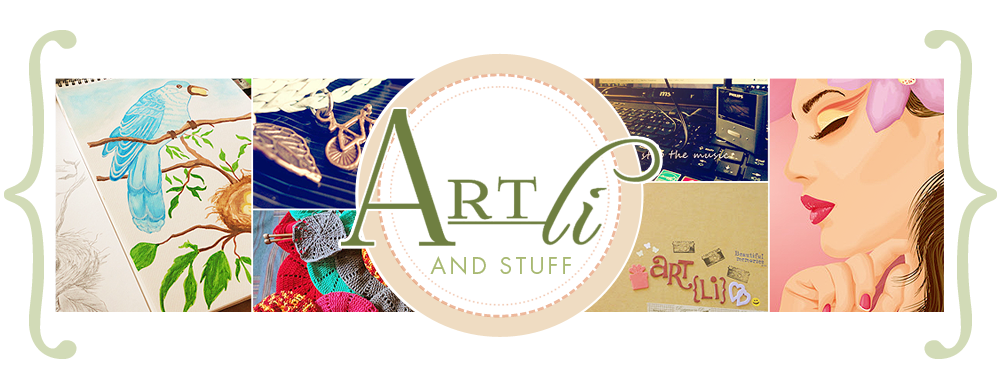 Art Li & Stuff New Blog Header Image for 2015