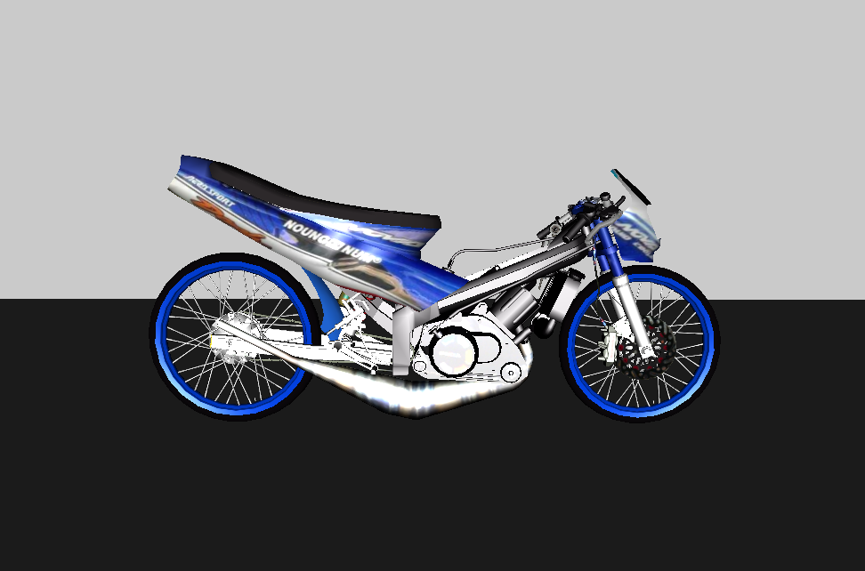 Dash Drag Gta sa Honda Dash Drag Bike