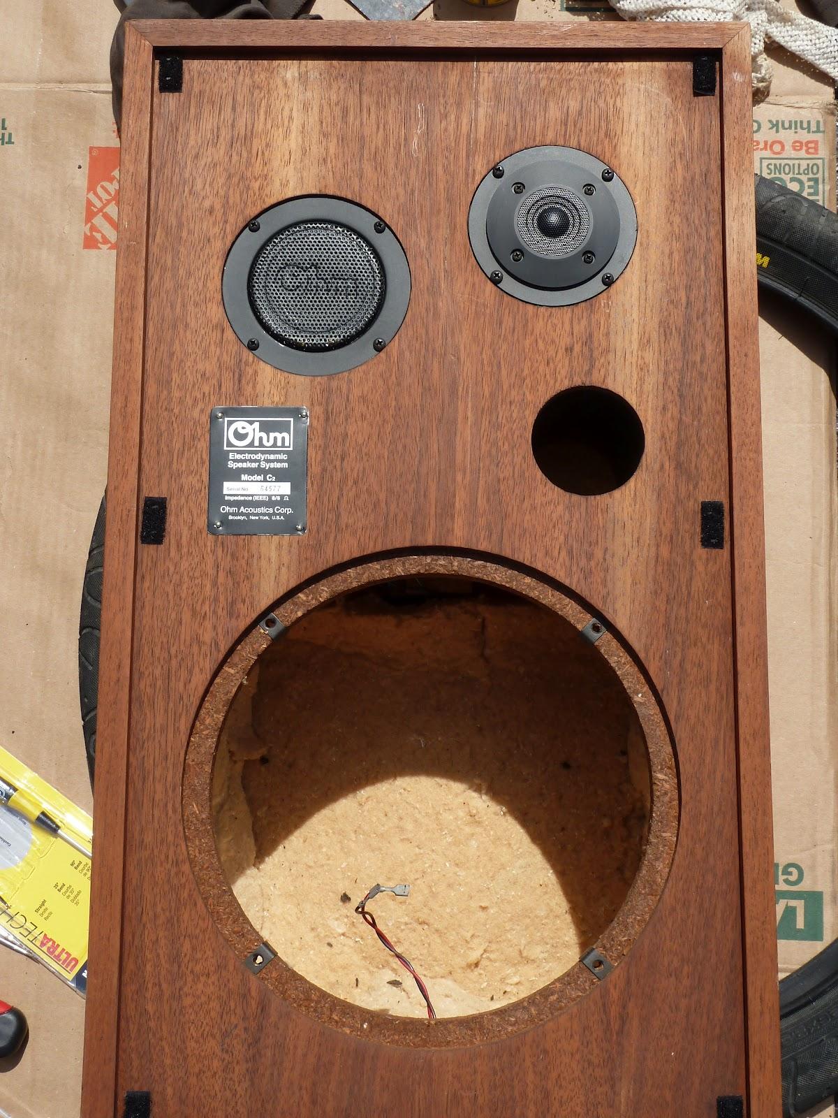 Speaker Repairs Part 2: Sealing and Protecting |Vintage Speaker ...