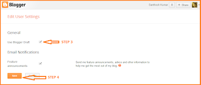 enable permalink in blogger