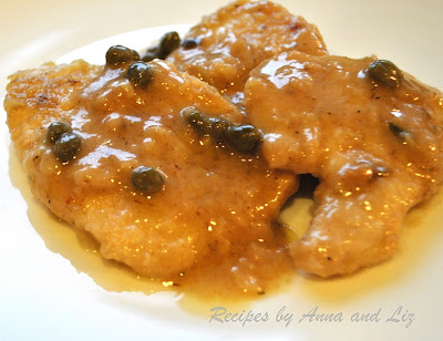 ... by Anna and Liz: Chicken Smothered in White Wine- Lemon and Capers