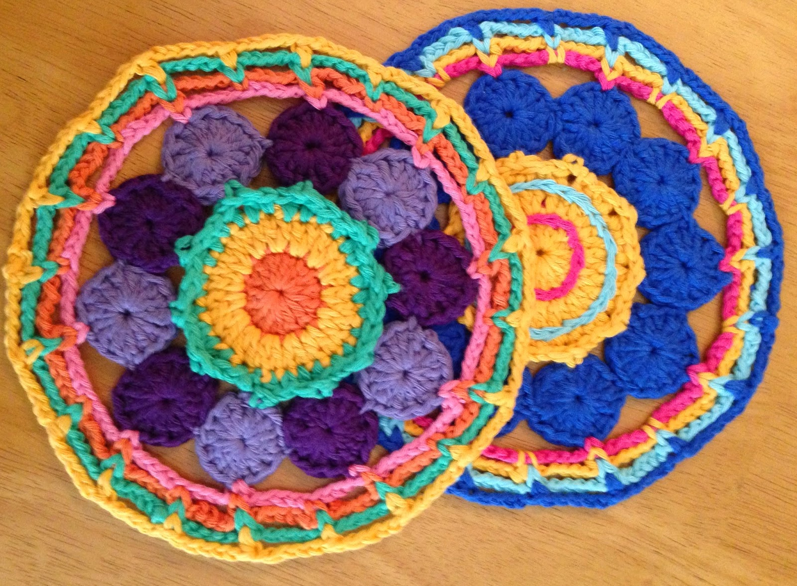 Da S Crochet Connection Circles And Chains Mandala