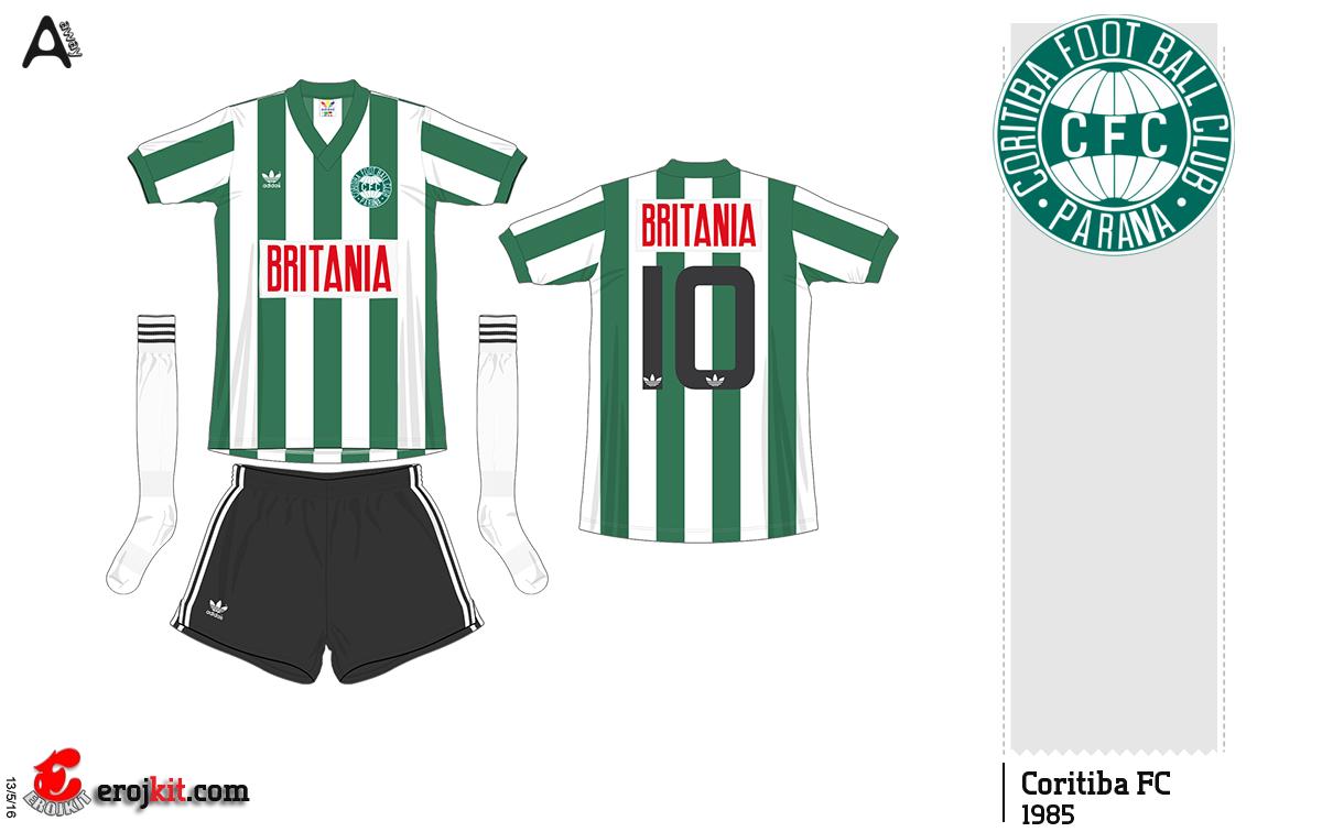Por isso não sei se o patrocínio da Britania foi também usado na camisa  titular. cb3e3e697e181