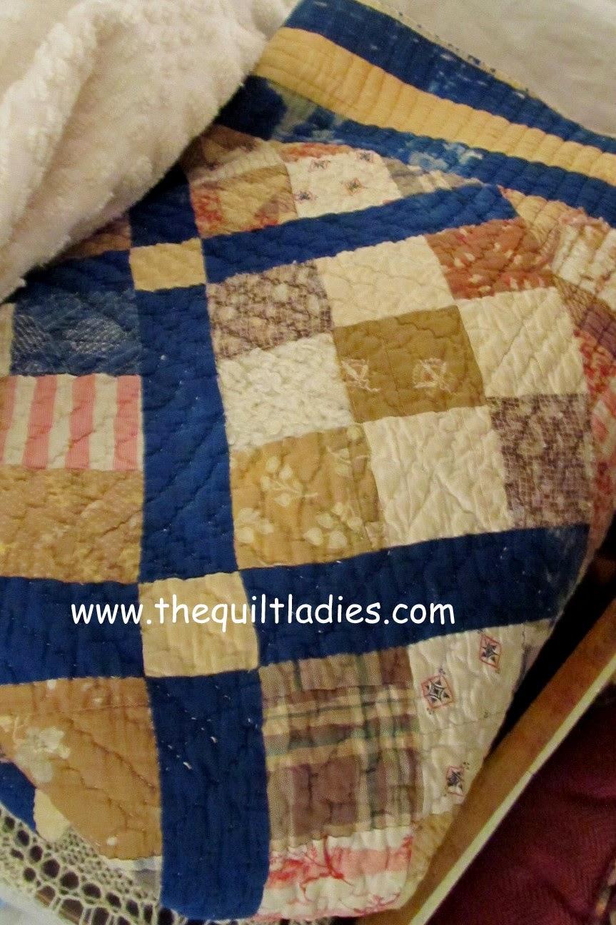 Quilts in Arcadia, Florida antique shops.