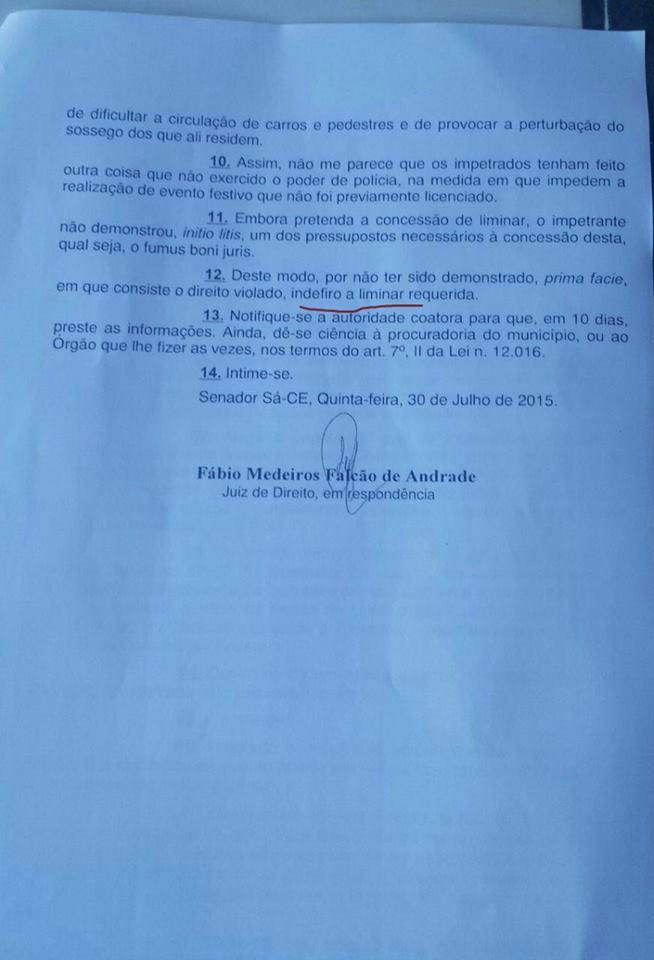 PORTAL DE NOTÍCIAS DE SENADOR SÁ