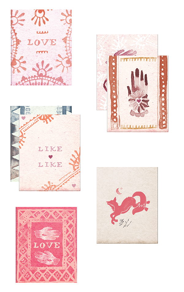 Free Printable Valentineu0027s Day Cards By Free People
