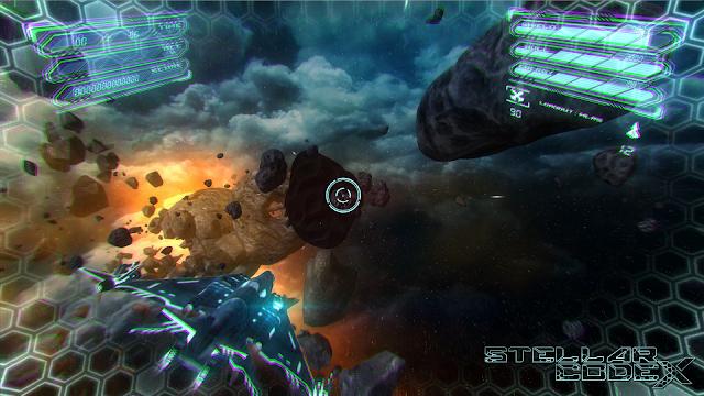 Stellar Codex, un nuevo juego de disparos espaciales 'on rails'