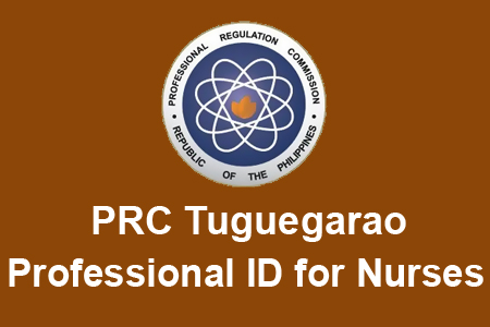 PRC Tuguegarao Released Professional ID for Nurses