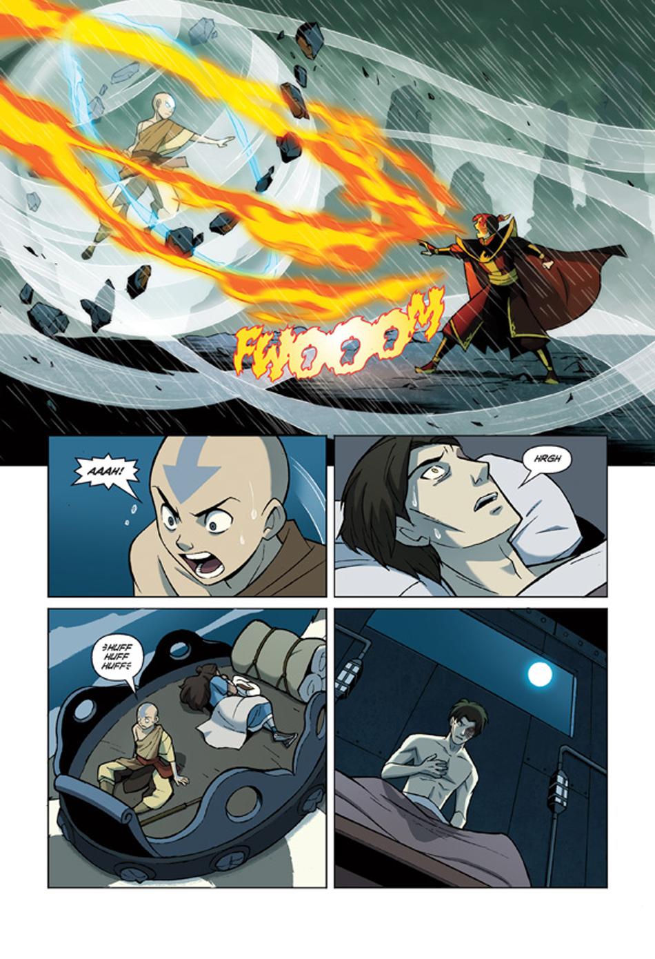 Avatar la promesa parte 3 aang comics avatar korra the promise part 3