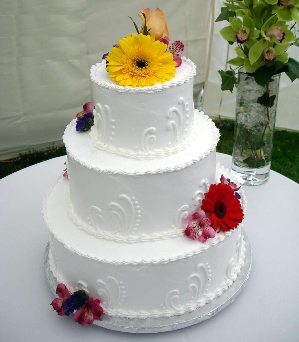 Simple Wedding Cakes