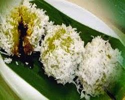 Resep praktis (mudah) membuat makanan tradisional kue klepon tepung beras ketan isi gula merah enak
