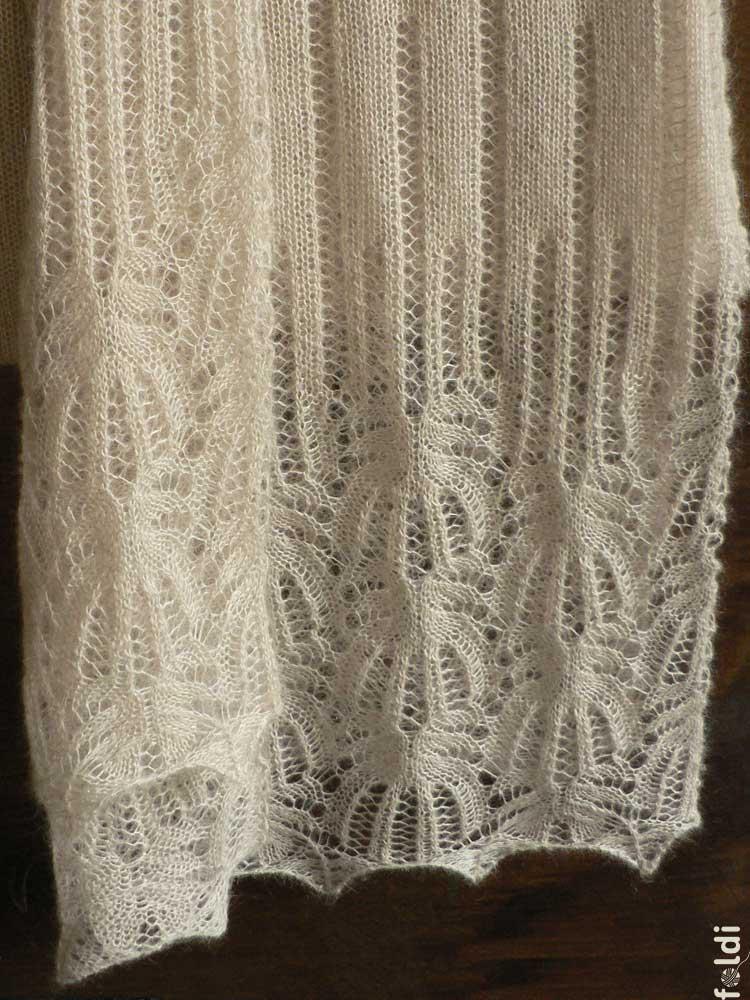Flower Lace Knitting Pattern : foldi: Mohair and silk lace shawl