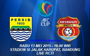 Persib vs Ayeyawady United