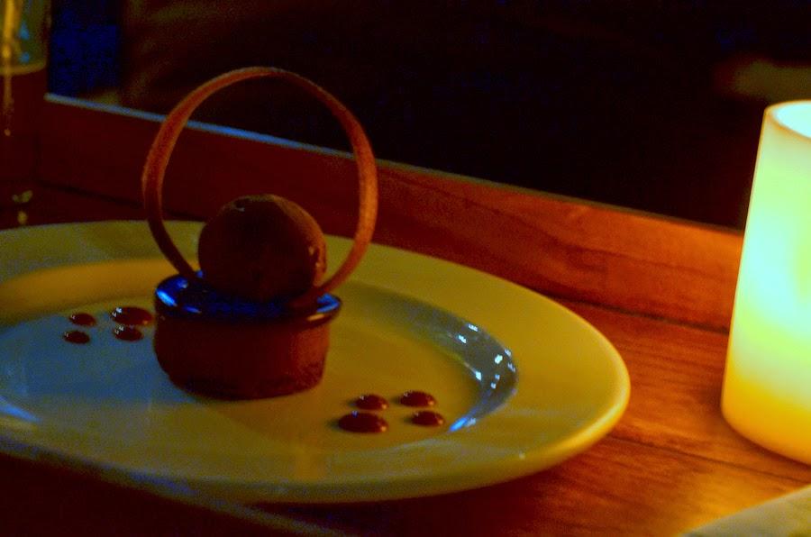 valhrona chocolate mousse