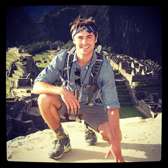 Zac Efron visita Perú