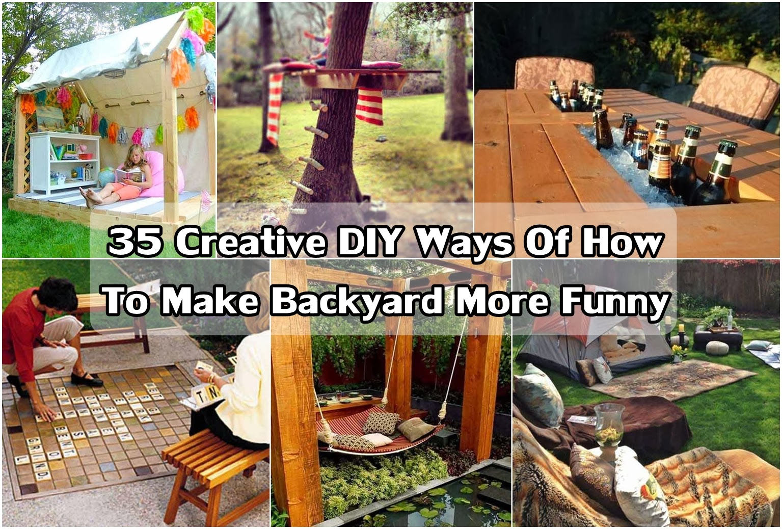 35 Creative Diy Ideas Of How To Make Backyard More Funny