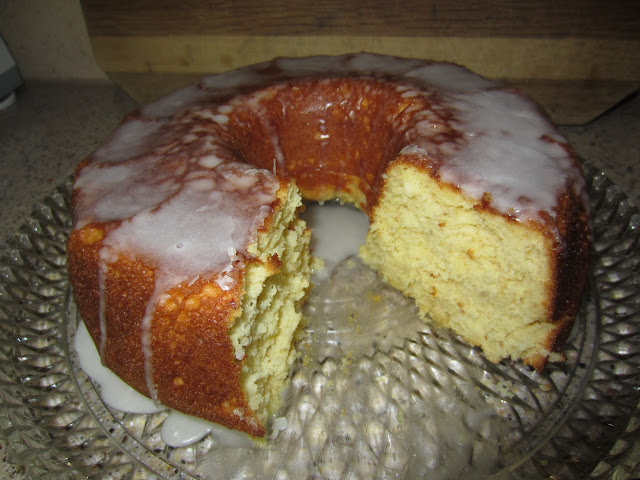 My Patchwork Quilt Coconut Banana Bundt Cake