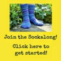 Sock knitting beginner?  Find all the tutorials and Sockalong pattern here!