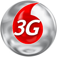 Vodafone 3g logo,Vodafone data credit service,internet at zero balance in Vodafone