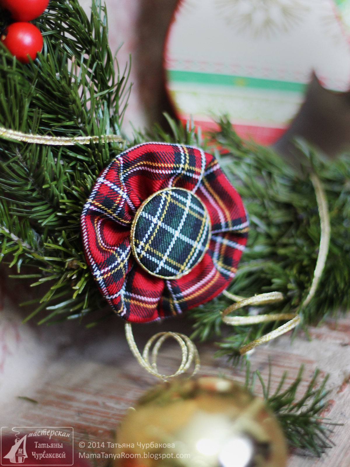 новогодний (рождественский) венок