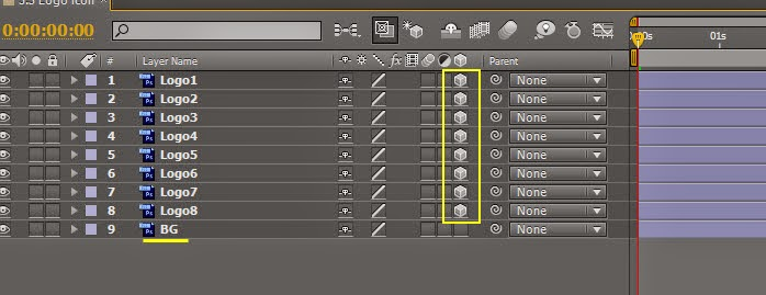 Use Null object control DOF 01