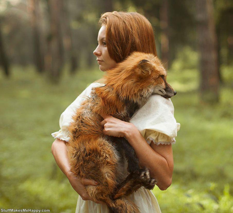 Russian Beauties and Wild Animals in the Photographs of Katerina Plotnikova
