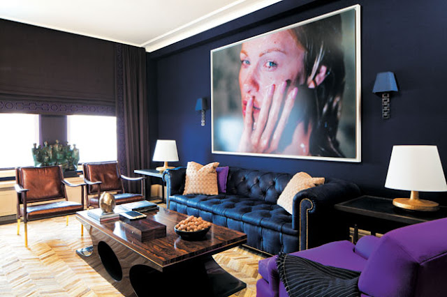 Amanda Nisbet Alluring With Navy Blue Living Room Walls Images